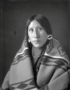 Crow woman. Early 1900s by Richard Throssel..
