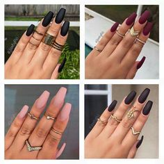 Matte Nails Are Life