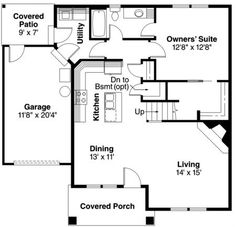 good design floor plan, for dec family country house..
