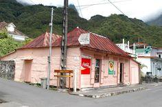 Case créole à Hell-Bourg, Cirque de Salazie, Réunion