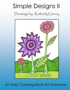 2: Simple Designs II: Another Easy Coloring Book for All (Volume 2)  US $10.99 & FREE Shipping  #bigboxpower