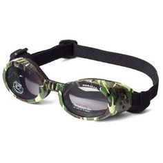 Doggles ILS X-Small Green Camo Frame and Smoke Lens $18.04