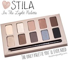 Stila In The Light Palette (six tutorials included!) @Leslie Lippi Lippi Lippi Riemen Harpster  is this the one you swear by?