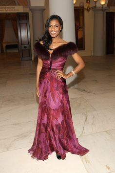 Omarosa Manigault.  Made a name for herself on the original Celebrity Apprentice and never looked back.