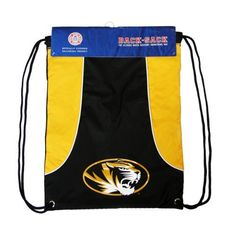 NCAA Missouri Axis Backsack by Concept 1. $9.38. The Backsack is a lightweight and durable bag, convenient to take along for different activities and carry your gear while sporting your favorite team