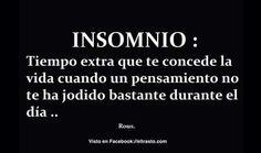 Insomnio.