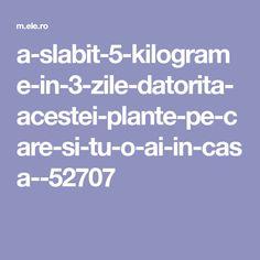 a-slabit-5-kilograme-in-3-zile-datorita-acestei-plante-pe-care-si-tu-o-ai-in-casa--52707 Health Fitness, Plant, Fitness, Health And Fitness