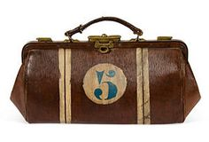 Vintage Bowling Handbag
