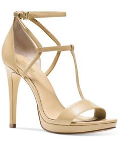 MICHAEL Michael Kors Simone Dress Sandals - Sandals - Shoes - Macy's