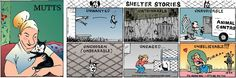 Unbelievable love! Thank Goodness It's Shelter Stories Friday! #MUTTS