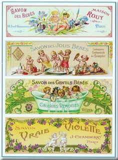 Savon ~ Fine-Art Print - Vintage Soap Art Prints and Posters - Vintage Advertisements Pictures Decoupage Vintage, Vintage Diy, Images Vintage, Vintage Paris, Vintage Labels, Vintage Ephemera, Vintage Pictures, Vintage Posters, Etiquette Vintage