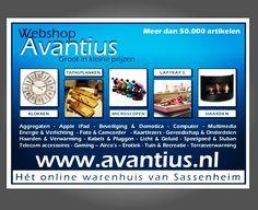 "Grafische vormgeving advertentie voor Avantius.nl ""Het online warenhuis van Nederland"".  #logo #huisstijl #design #print #graphicdesign #webshop #formulieren #amsterdam #drukwerk #shop #branding #designer #designing #creative #love #logos #art #designer #marketing #photooftheday #picoftheday #loveit #zzp #avantius #onderneming #holland www.omega-design.nl"