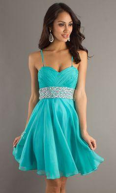 Aqua blue...reminds me of Princess Jasmine