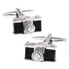 Rxbc2011 Men's Camera Style French Shirts Cufflinks 1 Pair Set -- Awesome products selected by Anna Churchill