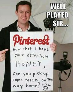Well-Played, as I fantastically pin this on Pinterest...
