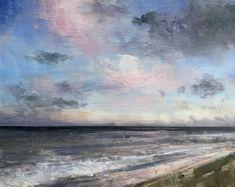 Winter Morning Sky Morning Sky, Oil On Canvas, Paintings, Winter, Artist, Artwork, Winter Time, Work Of Art, Paint