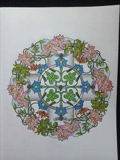 Nature Mandalas Marty Noble Creative Haven Coloring Book Marco Raffine Pencils