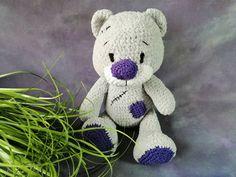 Medvídek | Adelain Teddy Bear, Toys, Handmade, Animals, Self, Activity Toys, Hand Made, Animales, Animaux