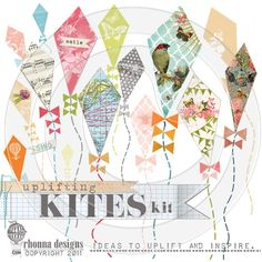 love the kites by claudine