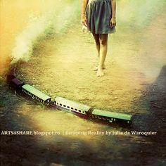 Mysterious Surreal Dream #12 by Julie de Waroquier