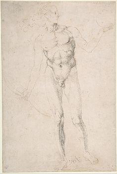"Standing Male Nude Holding a Bow (""Poynter Apollo"")"