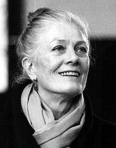 I think Vanessa Redgrave has the right look to be my hero's grandmother, Lady Willoughby.