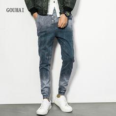 >> Click to Buy << European American Style Men Jeans Harem Pant Men's Casual Denim Trousers Cotton 2016 Fashion Brand Jeans Men Plus Size M-4XL 5XL #Affiliate