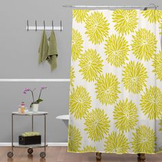 Khristian A Howell High Society Shower Curtain | DENY Designs Home Accessories