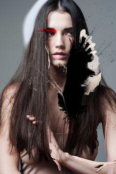XXSOME:  SUPERHERO model: Aline Stevens  make-up: Crystal Die  www.xxsome.com