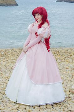 Ariel The Little Mermaid - Audrey said she wants to be Ariel with the pink dress so just looking at ideas to show her