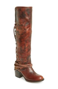 Freebird by Steven 'Coal' Tall Leather Boot (Women) available at #Nordstrom