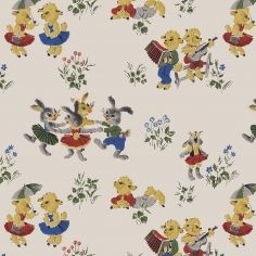 Authentic Nursery Room Vintage Children Wall Covering Digital Reproductions Of Retro Wallpaper Designs And Wallcoverings
