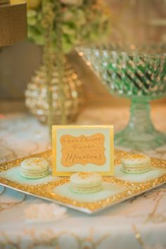 Pastel blue and green, angel wing themed baptism  |  The Frosted Petticoat