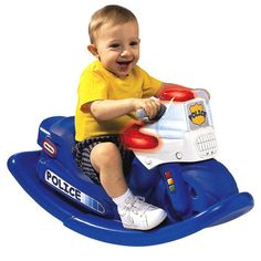 Little Tikes Police Cycle Sounds Rocker- For Daxton's birthday