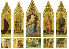 Polittico Quaratesi. Commissionato nel 1425 dalla famiglia Quaratesi per la chiesa di San Nicolò Oltrarno