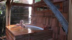 Stock Tank Hot Tub Plans | love the tradition of theJapanese Bath. The ritual ofslowly washing ...
