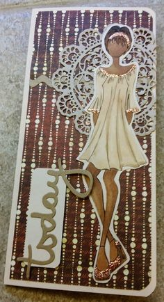 Piece of Cake... Handmade Cards: Prima Doll Cards ~ Brother ScanNCut