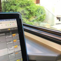 AbleTrain #tixilife #tixi #dj #djlife #ableton #train #macbook #digitalnomads