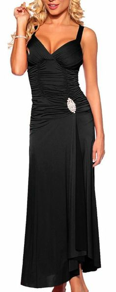 Designer Long Evening Rhinestone Prom Party Gown From Hot From Hollywood Pretty Dresses, Sexy Dresses, Beautiful Dresses, Fashion Dresses, Prom Dresses, Formal Dresses, Party Gowns, Party Dress, Prom Party