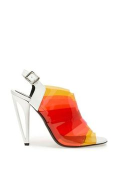 Yes! Brightly colored sandal by Fendi