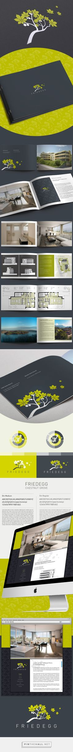 Real Estate Branding Friedegg on Behance - created via http://pinthemall.net