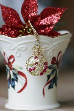 DIY wire wrap pendant love it must try! #ecrafty