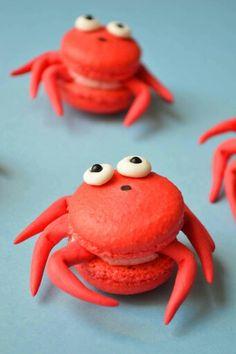 Crab macaroons
