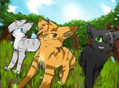 Anyone else notice that these three and Firestar, Graystripe, and Ravenpaw all look the same? And their all important? Jayfeather - Graystripe, Lionblaze - Firestar, Hollyleaf - Ravenpaw. =-= Am I the only one that notices that?