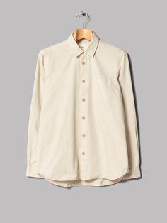 Folk Pleat Back Shirt (Chalk)