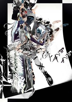 ILLUSTRATION & COLLAGE.  by MAYKA