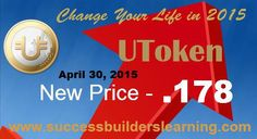 Utoken News , Current Utoken Price Increase
