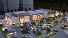 Retail center in Dubai hills