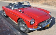 MGC Roadster, 1969. The only one of its kind in Israel.
