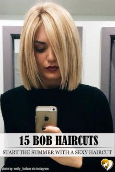 Medium bob haircuts are fancied by women all around the globe due to their versatility and a huge number of winning qualities. See our photo gallery.